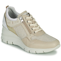 Scarpe Donna Sneakers basse NeroGiardini FLORA Beige / Oro