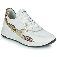 Scarpe Donna Sneakers basse NeroGiardini FIDEL Bianco / Leopard