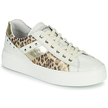 Scarpe Donna Sneakers basse NeroGiardini MANO Bianco / Leopard