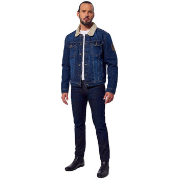 Abbigliamento Uomo Giacche in jeans Kaporal Ikost men Blu