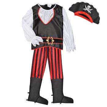 Abbigliamento Bambino Travestimento Fun Costumes COSTUME ENFANT PIRATE TOM Multicolore