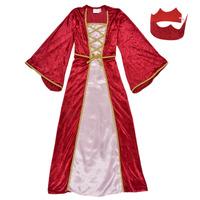 Abbigliamento Bambina Travestimento Fun Costumes COSTUME ENFANT REINE DE LA RENAISSANCE Multicolore