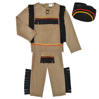 Abbigliamento Bambino Travestimento Fun Costumes COSTUME ENFANT INDIEN BIG BEAR Multicolore