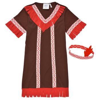 Abbigliamento Bambina Travestimento Fun Costumes COSTUME ENFANT INDIENNE FOX KITTEN Multicolore