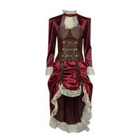 Abbigliamento Donna Travestimento Fun Costumes COSTUME ADULTE LADY STEAMPUNK Multicolore