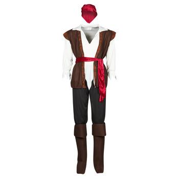 Abbigliamento Uomo Travestimento Fun Costumes COSTUME ADULTE PIRATE THUNDER Multicolore