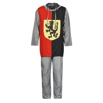 Abbigliamento Uomo Travestimento Fun Costumes COSTUME ADULTE SIR GAWAIN Multicolore