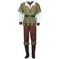 Abbigliamento Uomo Travestimento Fun Costumes COSTUME ADULTE FOREST HUNTER Multicolore