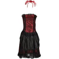 Abbigliamento Donna Travestimento Fun Costumes COSTUME ADULTE SALOON GIRL Multicolore