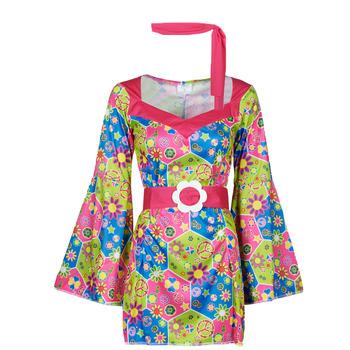 Abbigliamento Donna Travestimento Fun Costumes COSTUME ADULTE SWEET MEADOW Multicolore