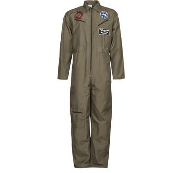 Abbigliamento Uomo Travestimento Fun Costumes COSTUME ADULTE PILOTE JET Multicolore