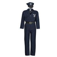 Abbigliamento Uomo Travestimento Fun Costumes COSTUME ADULTE OFFICIER DE POLICE Multicolore