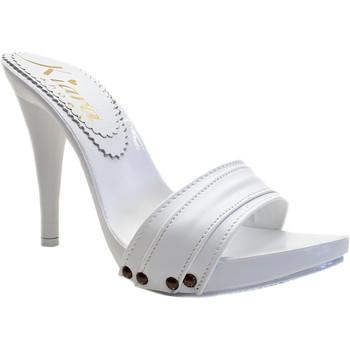 Scarpe Donna Zoccoli Kiara Shoes KM7401 Bianco