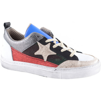 Scarpe Donna Sneakers Divine Follie Sneakers multicolor Bianco