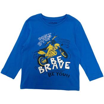 Abbigliamento Bambino T-shirts a maniche lunghe Losan 025-1201AL Blu