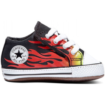 Scarpe Unisex bambino Sneakers Converse Chuck taylor all star cribster mid Nero