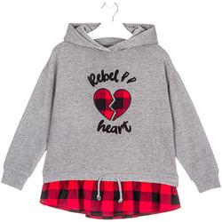 Abbigliamento Unisex bambino Felpe Losan 024-6012AL Grigio