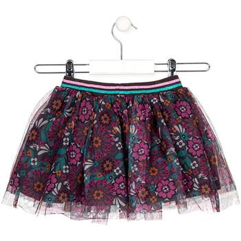 Abbigliamento Bambina Gonne Losan 026-7026AL Grigio
