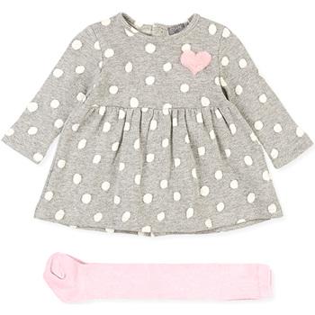Abbigliamento Bambina Completo Losan 028-8034AL Grigio