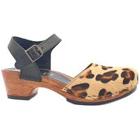 Scarpe Donna Sandali My Clogs MY720 Leopard