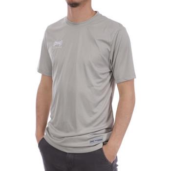 Abbigliamento Uomo T-shirt & Polo Hungaria H-15TMUUBA00 Grigio