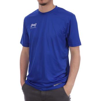 Abbigliamento Uomo T-shirt & Polo Hungaria H-15TMUUBA00 Blu