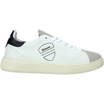 Scarpe Uomo Sneakers Blauer F0KEITH02/LES Bianco