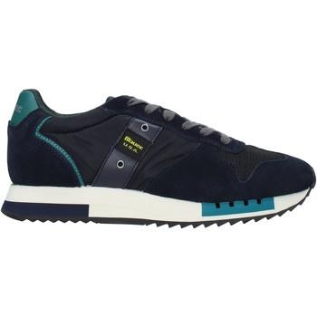 Scarpe Uomo Sneakers Blauer F0QUEENS01/CAM Blu
