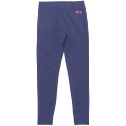Abbigliamento Bambina Leggings Fila 688155 Blu