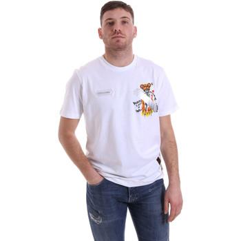 Abbigliamento Uomo T-shirt maniche corte Disclaimer 21EDS50512 Bianco