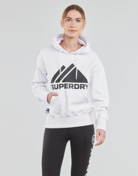 Abbigliamento Donna Felpe Superdry MOUNTAIN SPORT MONO HOOD Bianco
