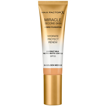Bellezza Donna Fondotinta & primer Max Factor Miracle Touch Second Skin Found.spf20 6-golden Medium 30 ml