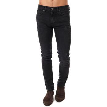 Abbigliamento Uomo Jeans slim Paname Brothers PB-JIMMY Nero