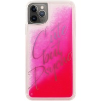 Borse Fodere cellulare Benjamins Cover Cute But Psycho iPhone 11 Pro Max Rosa Rosa
