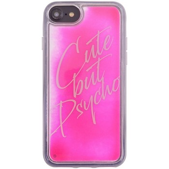 Borse Fodere cellulare Benjamins Cover Cute But Psycho iPhone 8 7 6s 6 Rosa Rosa