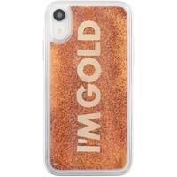 Borse Fodere cellulare Benjamins Cover Im Gold iPhone XR Oro  BENBJXR-LIQGOL Oro