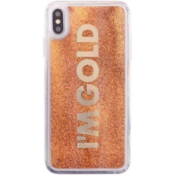 Borse Fodere cellulare Benjamins Cover Im Gold iPhone XS X Oro  BENBJXS-LIQ Oro