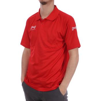 Abbigliamento Uomo Polo maniche corte Hungaria H-15TMUXD000 Rosso