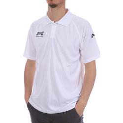 Abbigliamento Uomo Polo maniche corte Hungaria H-15TMUXD000 Bianco