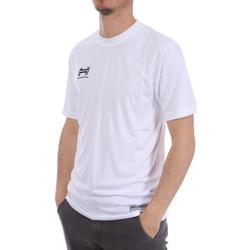 Abbigliamento Uomo T-shirt maniche corte Hungaria H-15TMUUBA00 Bianco