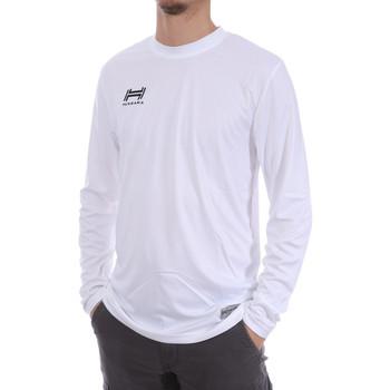 Abbigliamento Uomo T-shirts a maniche lunghe Hungaria H-15TMUUCA00 Bianco
