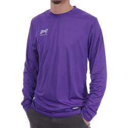 Abbigliamento Uomo T-shirts a maniche lunghe Hungaria H-15TMUUCA00 Viola