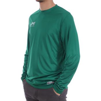 Abbigliamento Uomo T-shirts a maniche lunghe Hungaria H-15TMUUCA00 Verde