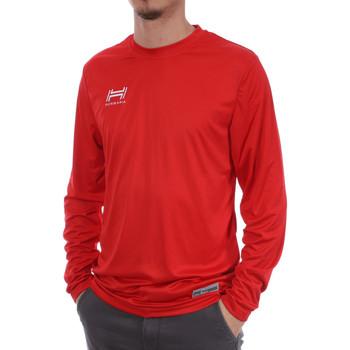 Abbigliamento Uomo T-shirts a maniche lunghe Hungaria H-15TMUUCA00 Rosso