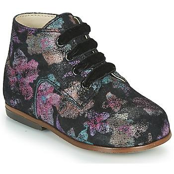 Scarpe Bambina Sneakers alte Little Mary MILOTO Nero