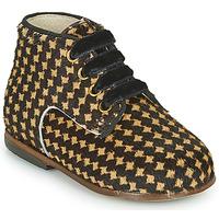 Scarpe Bambina Sneakers alte Little Mary MAXYNE Nero