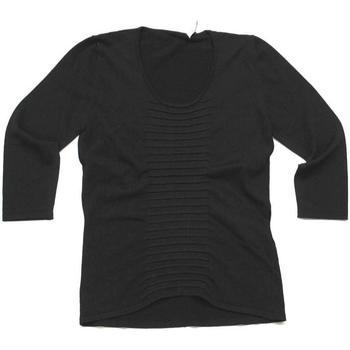 Abbigliamento Donna T-shirts a maniche lunghe Pennyblack ATRMPN-23932 Nero