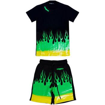 Abbigliamento Uomo Tuta Exclusive Paris 202EX Verde