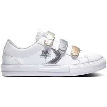Scarpe Unisex bambino Sneakers basse Converse Star player 3v ox Bianco
