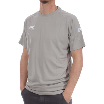 Abbigliamento Uomo T-shirt & Polo Hungaria H-15TPUXBA00 Grigio